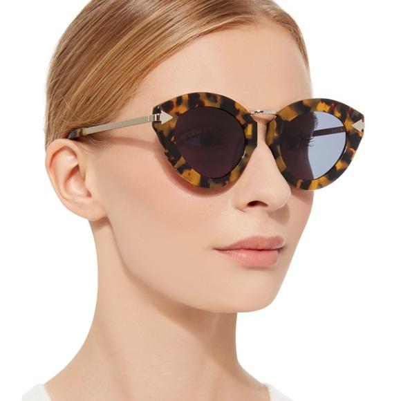 6203f900f889 🆕Karen walker LUNAR FLOWERPATCH sunglasses 💯AUTH